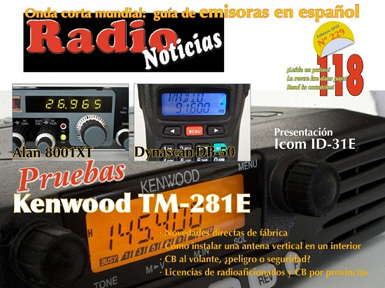 Radio Noticias February 2012 Magazine Cover
